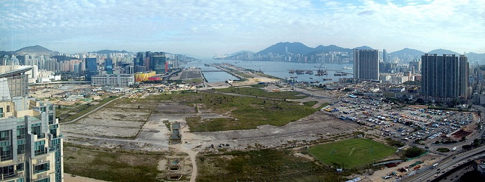 Kai Tak airport area