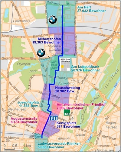 Route suggested by the ADFC Munich (ADFC Munich)