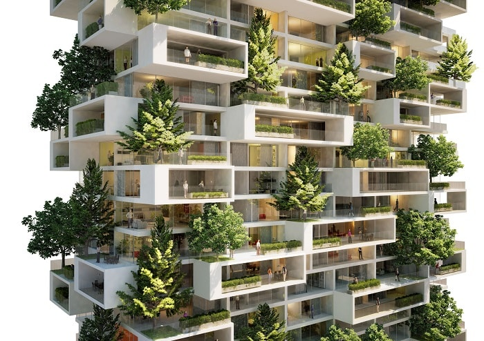 The Cedar Trees Tower (Stefano Boeri Architetti)
