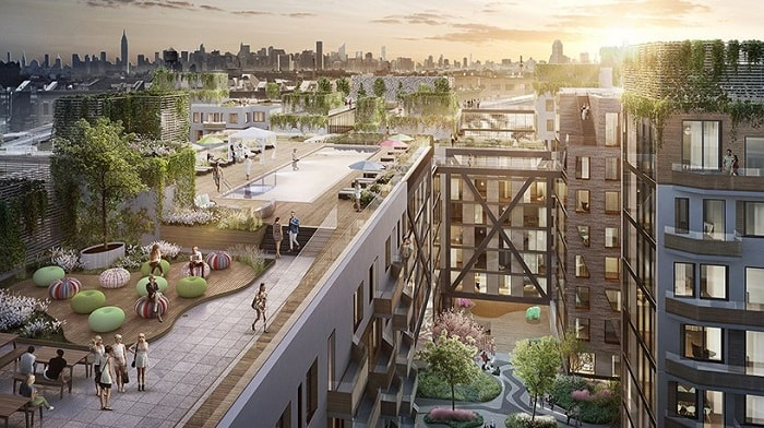 City in the City - Bushwick II - ODA Architects - Rheingold Brewery