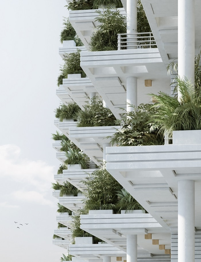 Magic Breeze Sky Villas by Penda