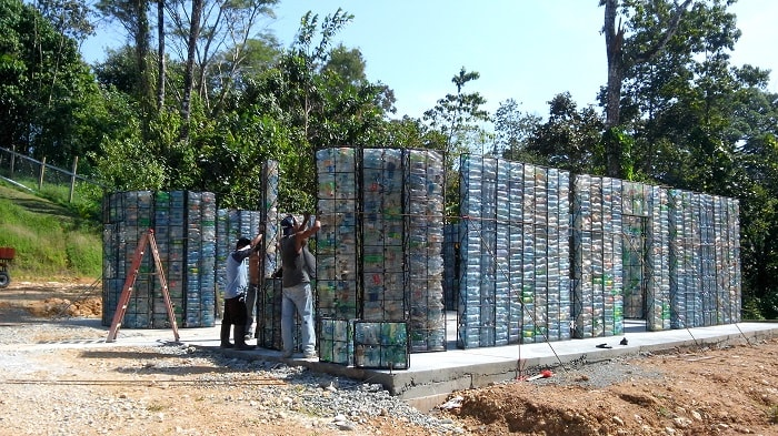 Plastic Bottle Village Panama
