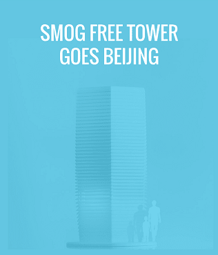 Smog Free Tower Beijing