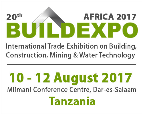 Build Expo Tanzania Africa April 2017 - International Trade Exhibition on Building, Construction, Mining & Water Technology