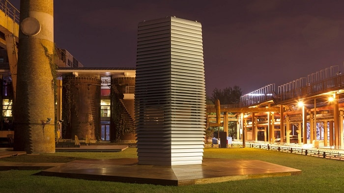 Smog Free Tower In Beijing China - Daan Roosegaarde - eco urban climate Cropped