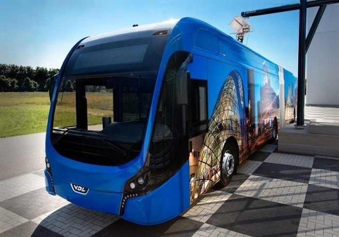 Electric Bus Fleet of Eindhoven and Helmond the Netherlands from Transdev - eco urban transport & motoring