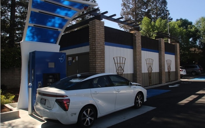 True Zero hydrogen-charging station in Saratoga (True Zero)