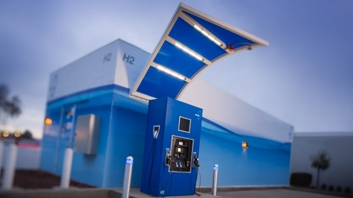 True Zero's hydrogen-charging stations, California, USA