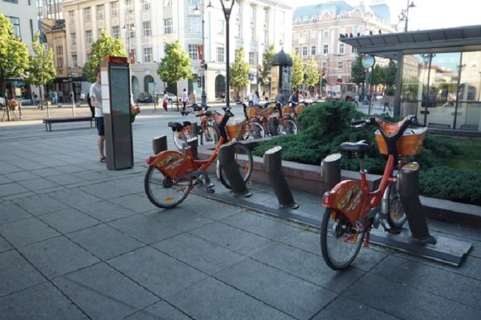 Bicycle Sharing Systems in Vilnius, Lithuania