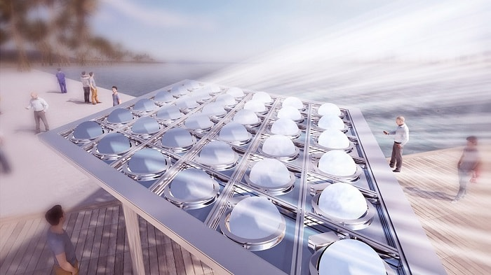Sun and shade in Dubai from Carlo ratti associati - eco urban renewables