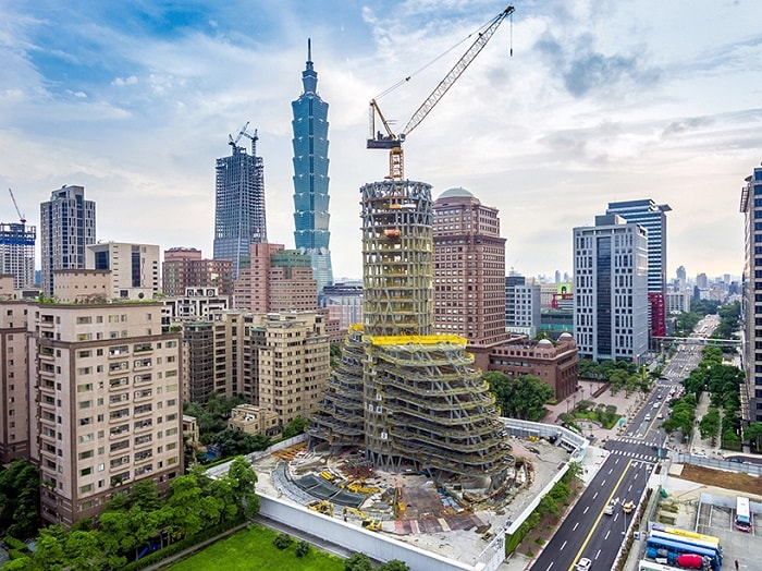 Tao Zhu Yin Yuan Tower site - vincent callebaut - eco urban green building