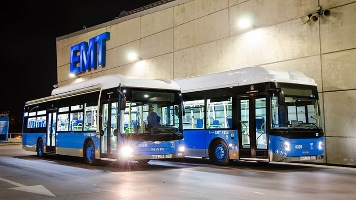 Madrid's Public Transport Company EMT ordered 160 gas buses