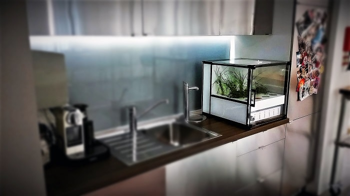 Automated Indoor Garden from CityCrop for your Kitchen