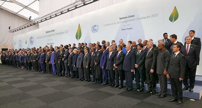Fight Climate Change - Paris Agreement - Heads of the delegation 2015