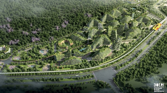 Liuzhou Forest City from Stefano Boeri