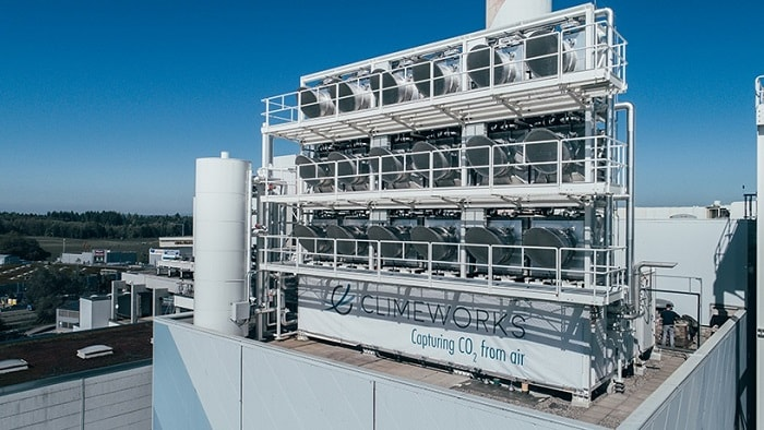 Climeworks commissions the first commercial-scale direct air capture plant in the world