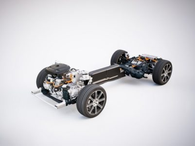 Volvo 100 percent electric by 2019 - XC60 T8 powertrain