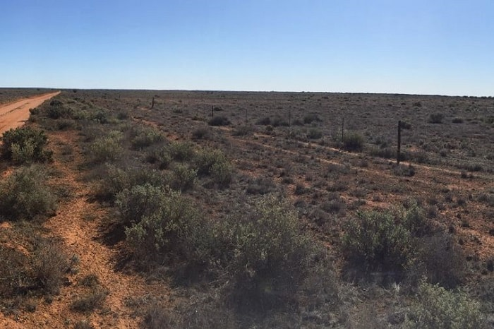 Aurora Solar Energy Project in Australia in the desert north of Port Augusta