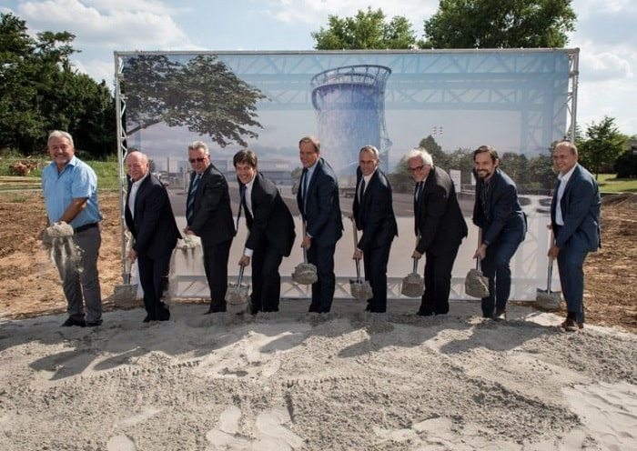 Heat energy storage in Heidelberg Broke Ground - Stadtwerke Heidelberg