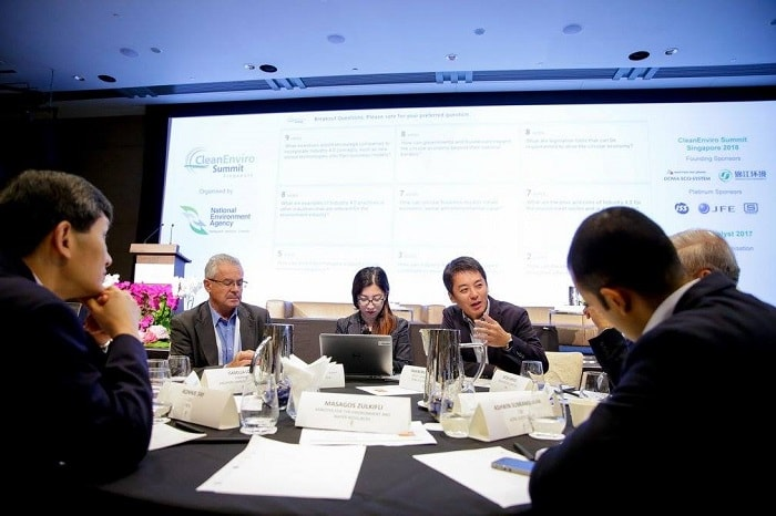 CleanEnviro Summit Singapore 2017 CESS - Group work