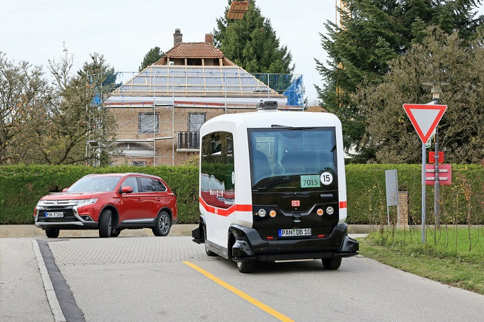 Autonomous bus service in Germany ioki from Deutsche Bahn
