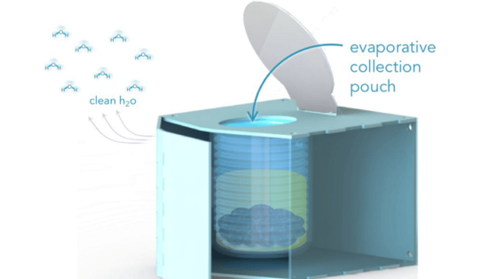 Evaporative Off-Grid Toilet Hope For Solving Urban Sanitation Problems