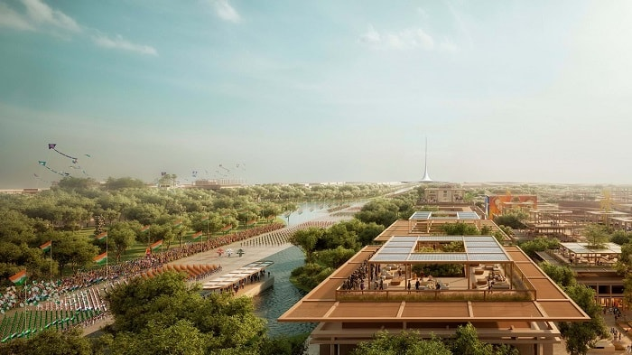 City from the scratch - Amaravati from Foster and Partners India