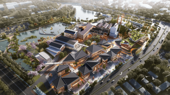Refurbishing Hongqi Zhen Sugar Factory in China With Sustainable Features