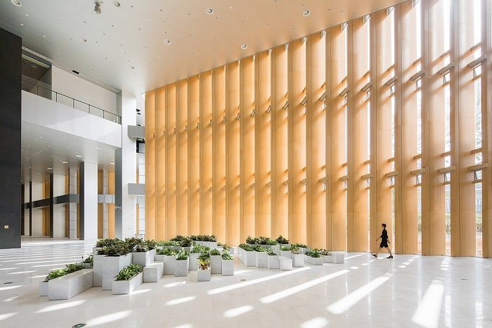 Interior light at Shenzen Energy Company