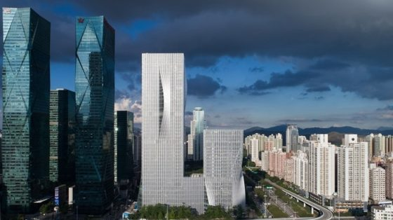 Building for Shenzhen Energy Company Showcases New Sustainable Design Concept