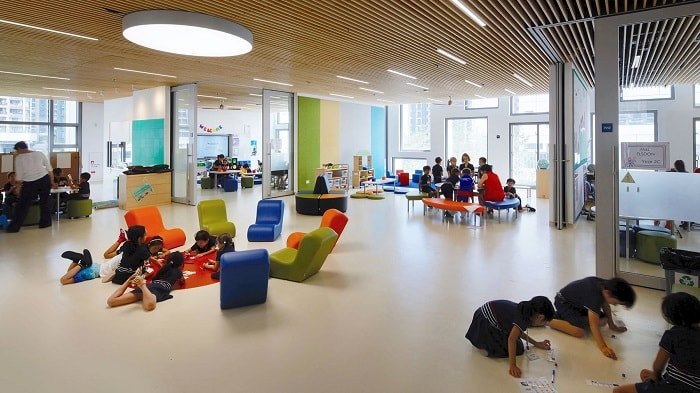 Hong-Kongs-Greenest-School-indoor-areas-henning-larsen